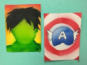 Airspray-Superheroes