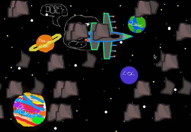 Cyrus Space game